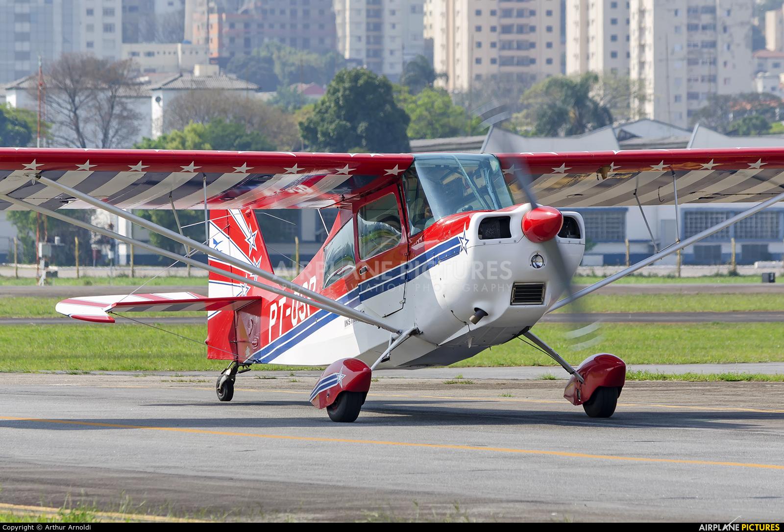 Aeroclube de São Paulo PT-OSP aircraft at São Paulo - Campo de Marte