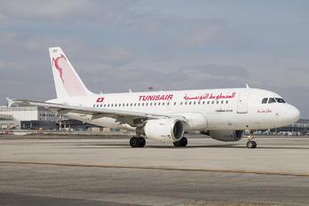 TS-IMQ - Tunisair Airbus A319