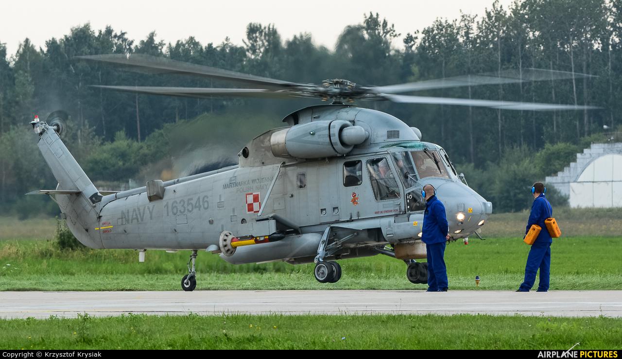 Poland - Navy 163546 aircraft at Gdynia- Babie Doły (Oksywie)