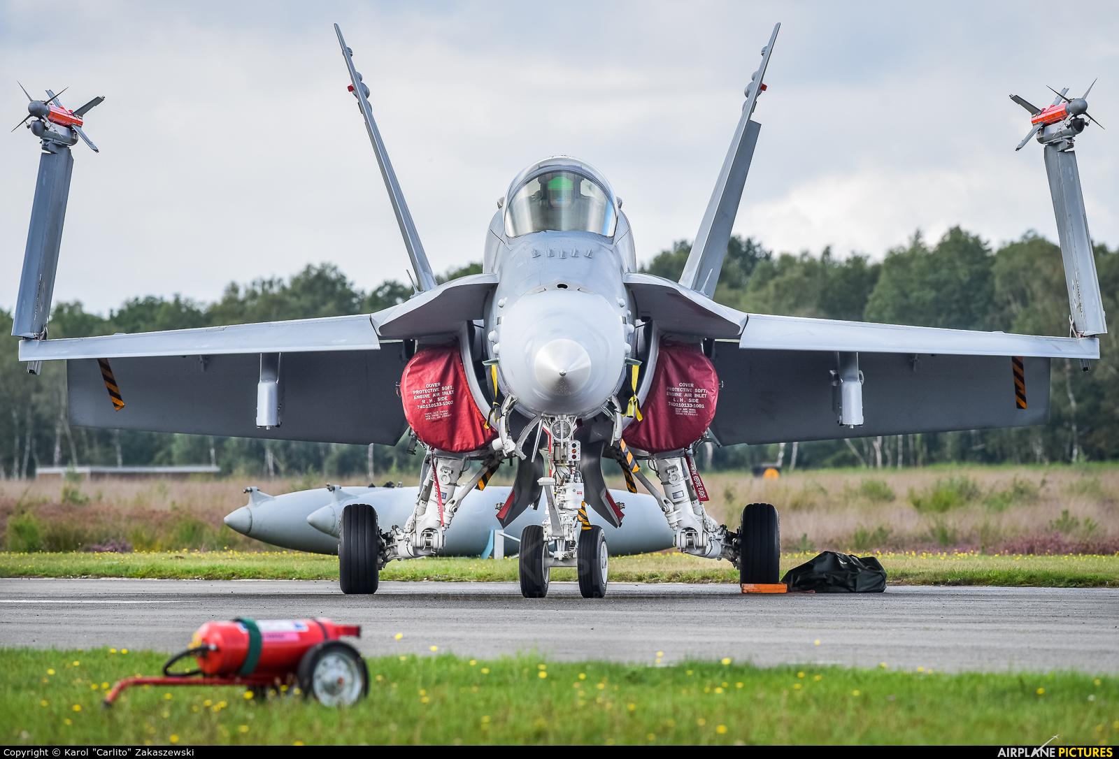Finland - Air Force HN-454 aircraft at Kleine Brogel