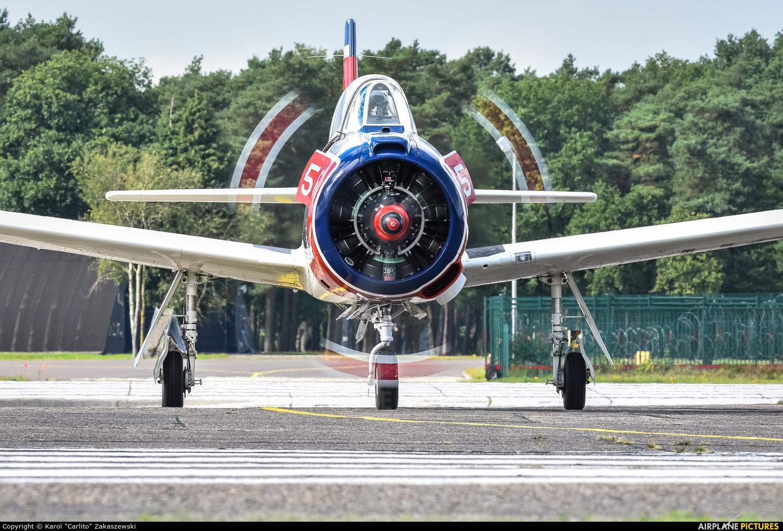 Private N1328B aircraft at Kleine Brogel