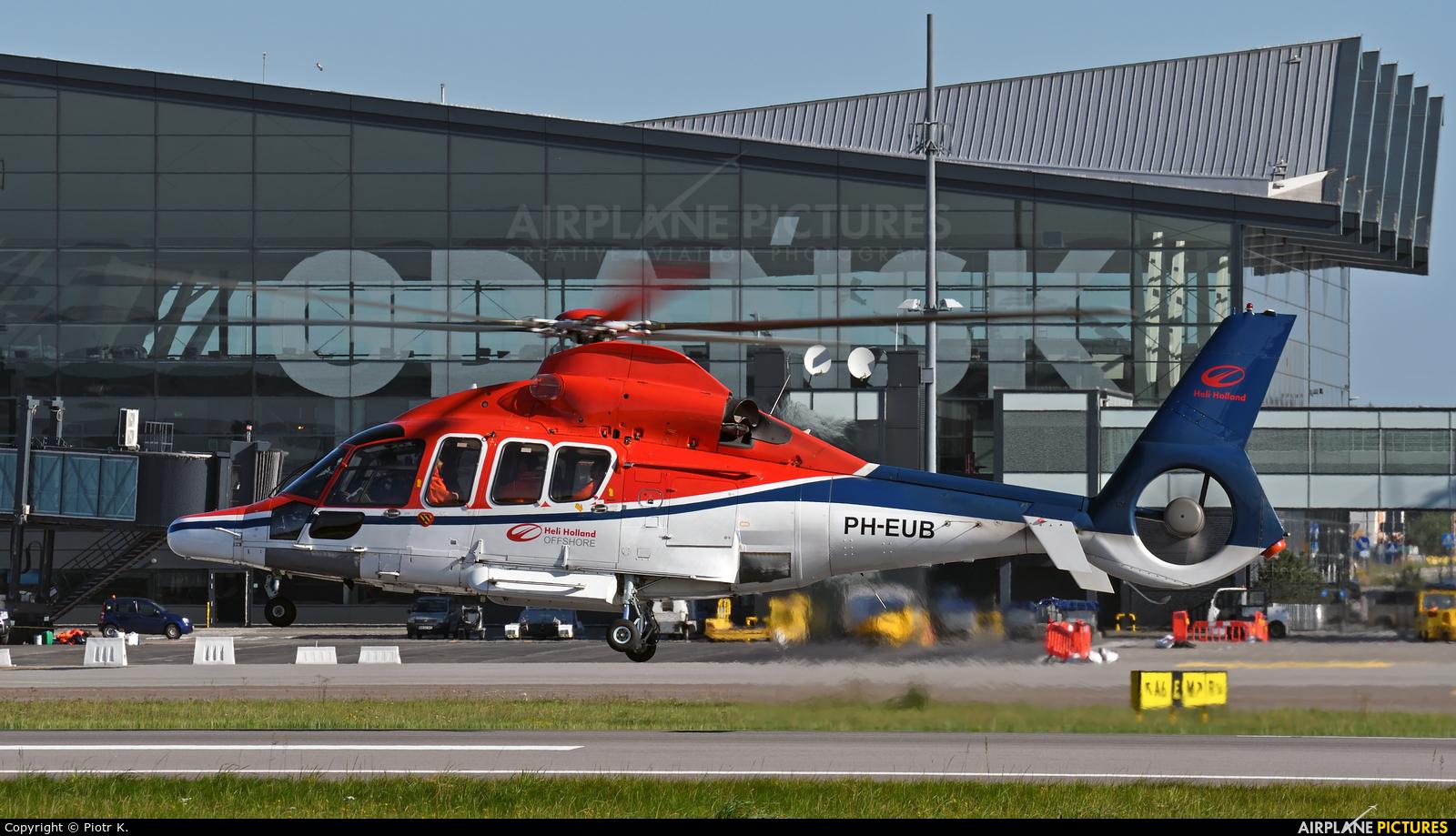 CHC Netherlands PH-EUB aircraft at Gdańsk - Lech Wałęsa