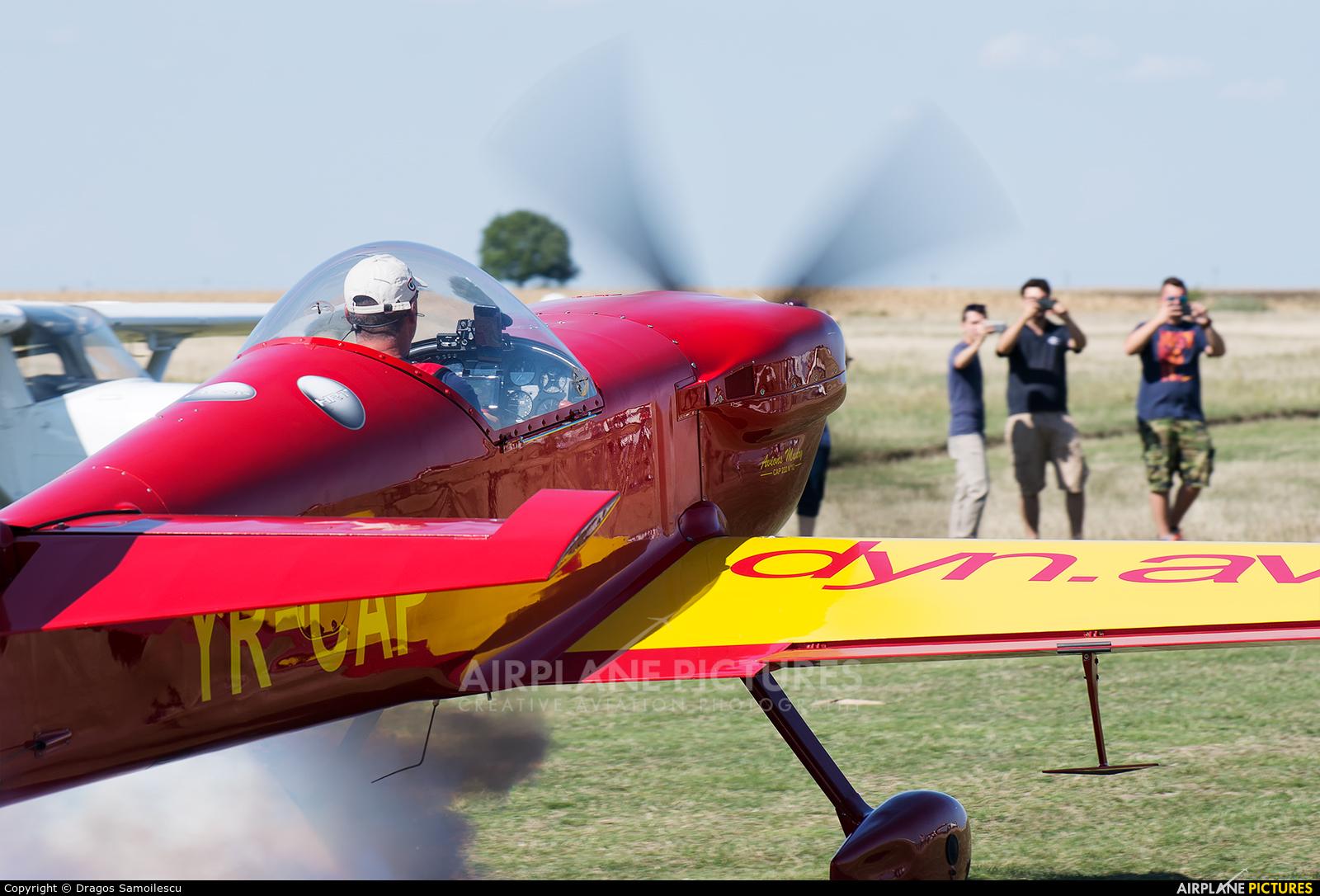 Private YR-CAP aircraft at Aerodrom Charlie Bravo Siria