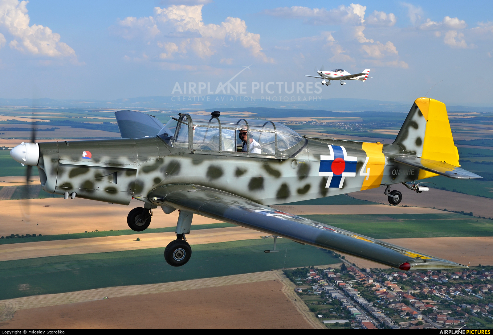 Private OM-MHE aircraft at In Flight - Slovakia