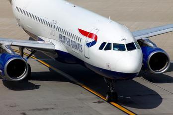 G-EUYD - British Airways Airbus A320