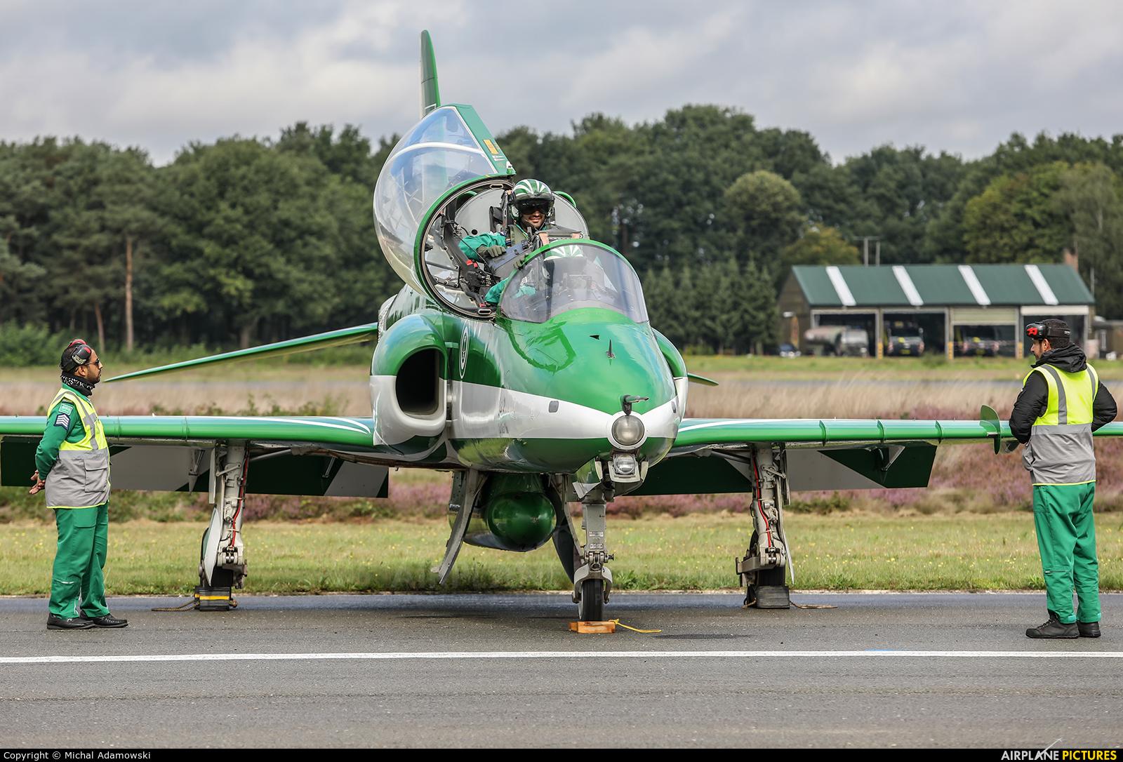 Saudi Arabia - Air Force: Saudi Hawks 8817 aircraft at Kleine Brogel