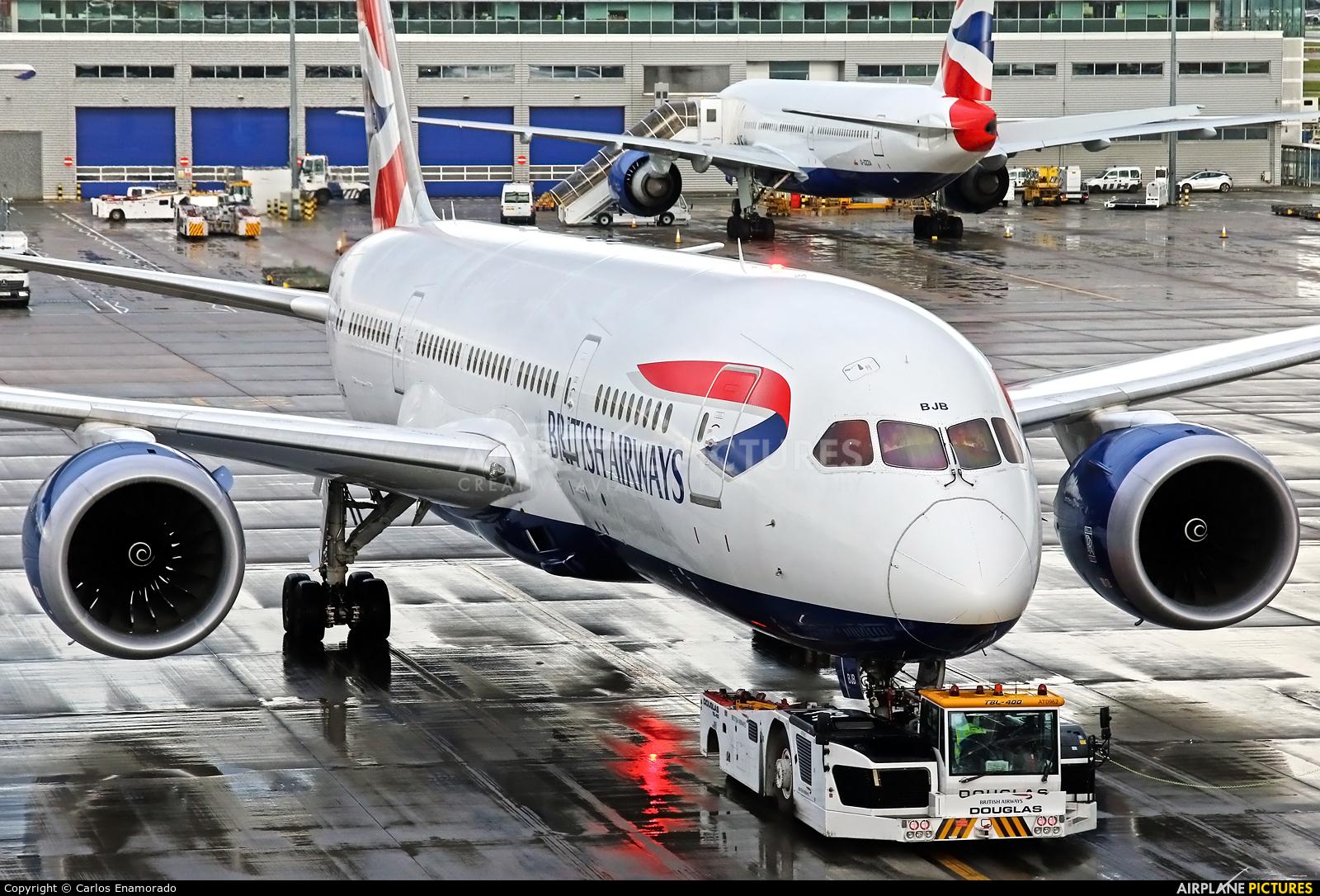 British Airways G-ZBJB aircraft at London - Heathrow