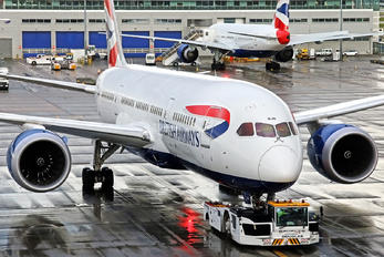 G-ZBJB - British Airways Boeing 787-8 Dreamliner