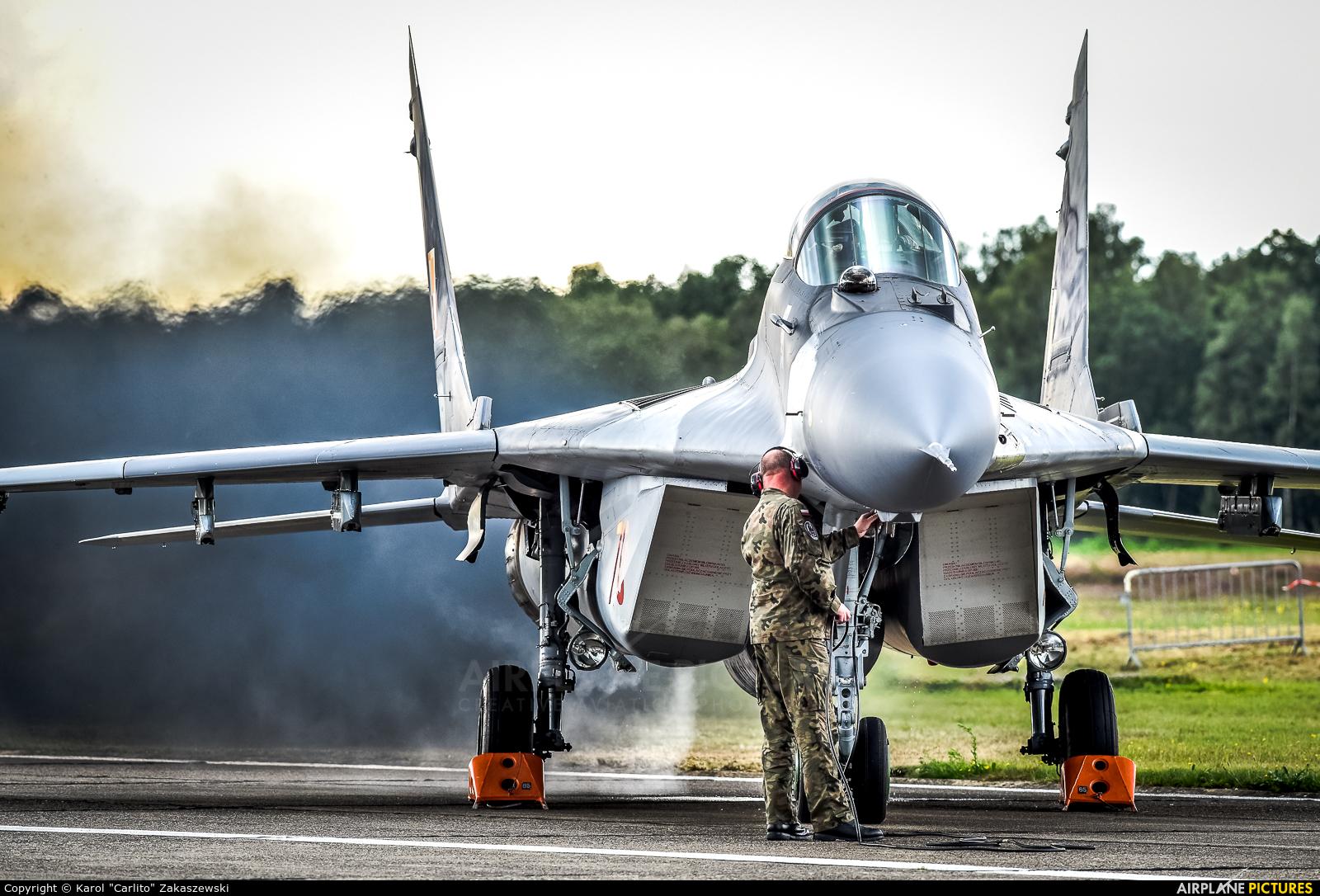 Poland - Air Force 70 aircraft at Kleine Brogel