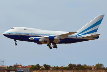 VP-BLK - Las Vegas Sands Boeing 747SP
