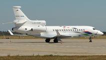 Volkswagen Air Services Falcon 7X vistis Bratislava title=
