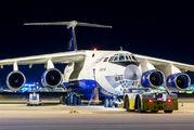 Rare visit of SilkWay Il-76 to Porto title=
