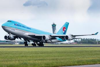 HL7499 - Korean Air Cargo Boeing 747-400F, ERF