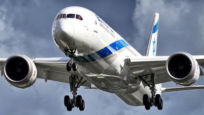 4X-EDA - El Al Israel Airlines Boeing 787-9 Dreamliner