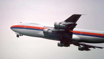 N4713U - United Airlines Boeing 747-100