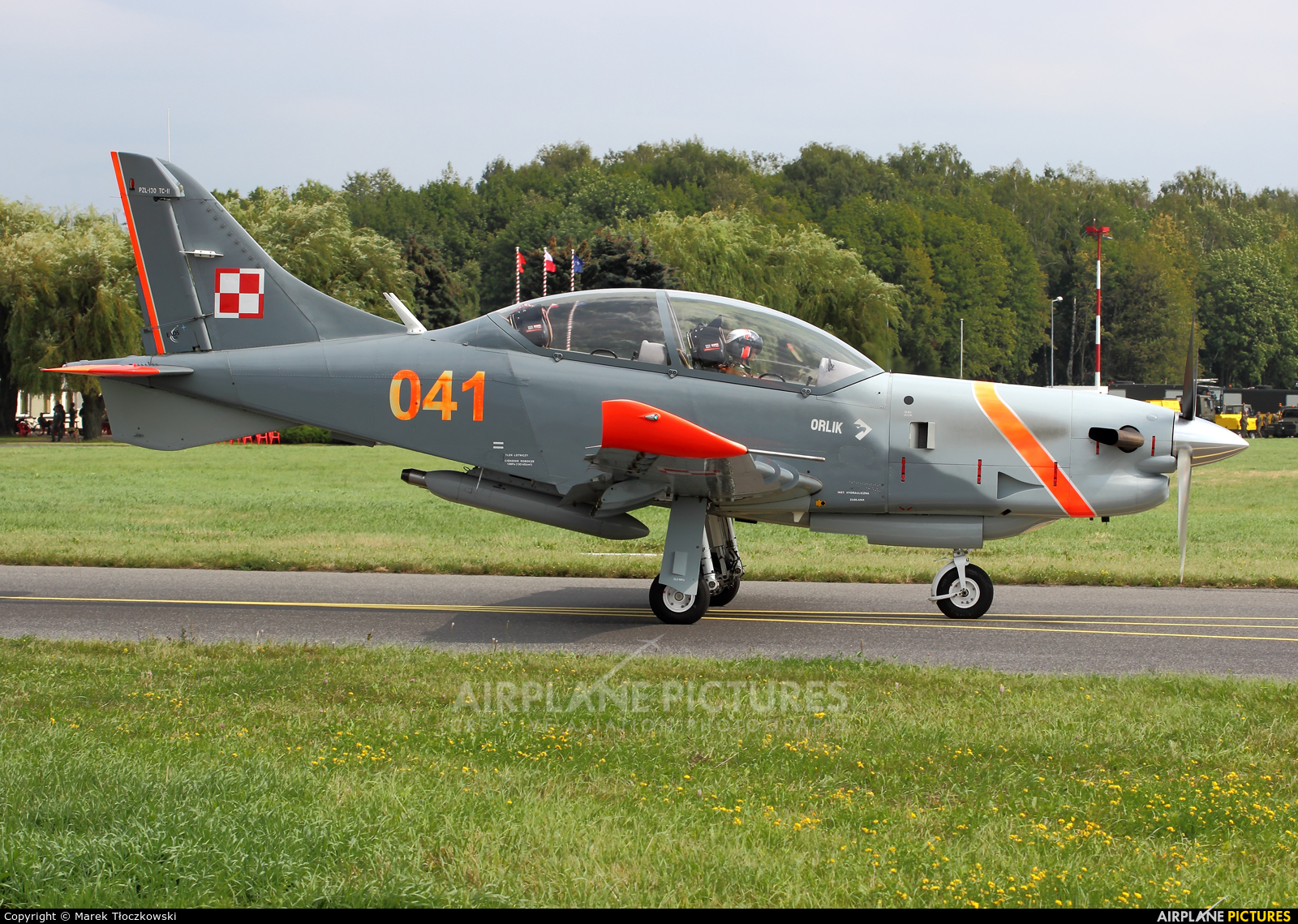 "Poland - Air Force ""Orlik Acrobatic Group"" 041 aircraft at Radom - Sadków"