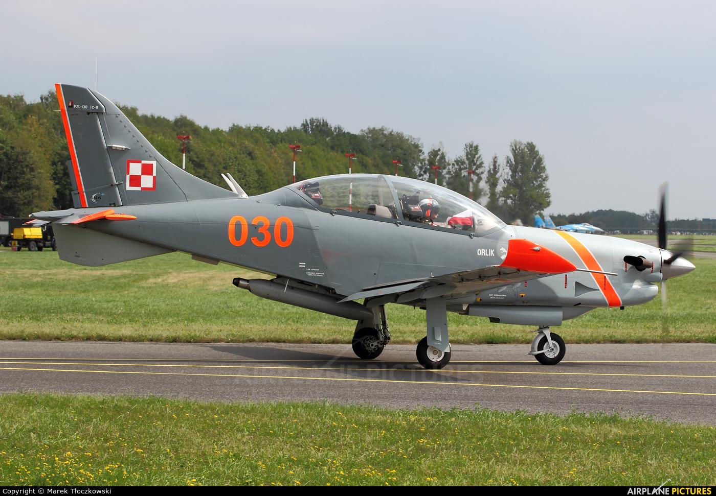 "Poland - Air Force ""Orlik Acrobatic Group"" 030 aircraft at Radom - Sadków"