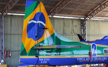 """FAB-5703 - Brazil - Air Force """"Esquadrilha da Fumaça"""" Embraer EMB-314 Super Tucano A-29A"""