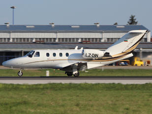 LZ-DIN - Private Cessna 525 CitationJet