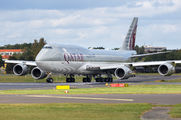 Qatar Amiri Boeing 747-8 visits Berlin Tegel title=