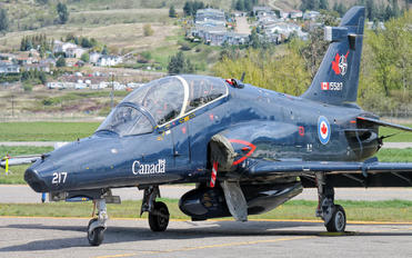 155217 - Canada - Air Force British Aerospace Hawk 115