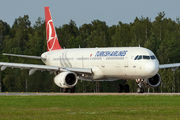 TC-JSF - Turkish Airlines Airbus A321 aircraft