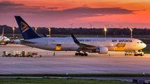 Rare visit of Air Astana B763 to Dusseldorf title=