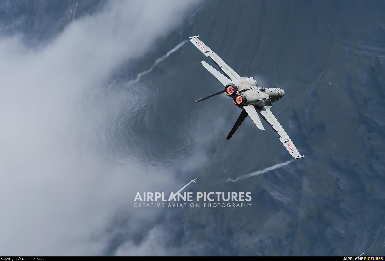 Switzerland - Air Force J-5019 aircraft at Sion