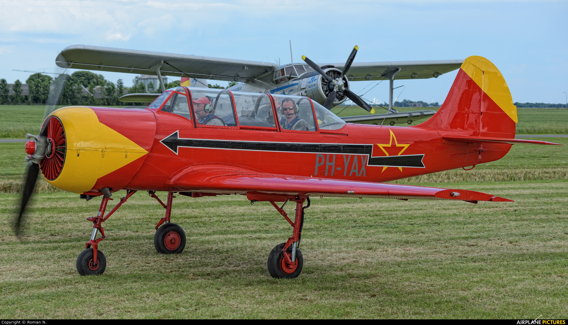 Private PH-YAX aircraft at Oostwold