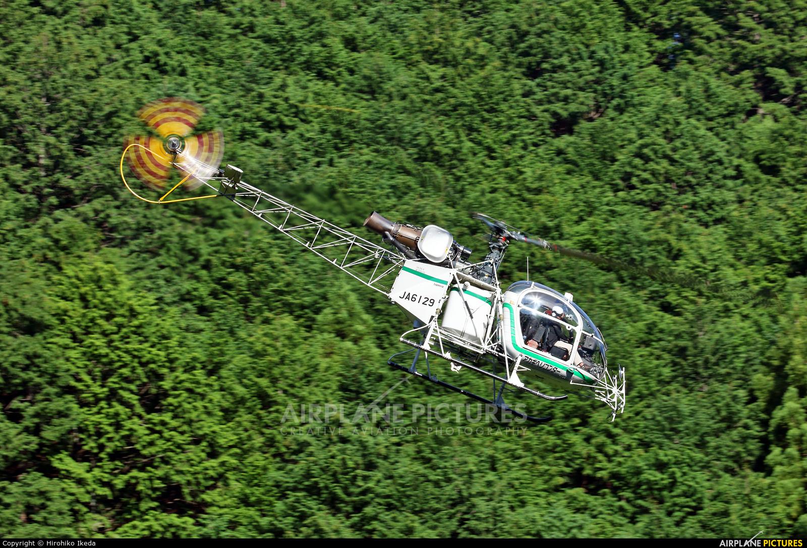 Akagi Helicopter JA6129 aircraft at Off Airport - Japan
