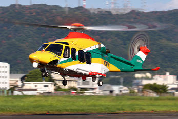 JA08DX - Aero Asahi Agusta Westland AW139