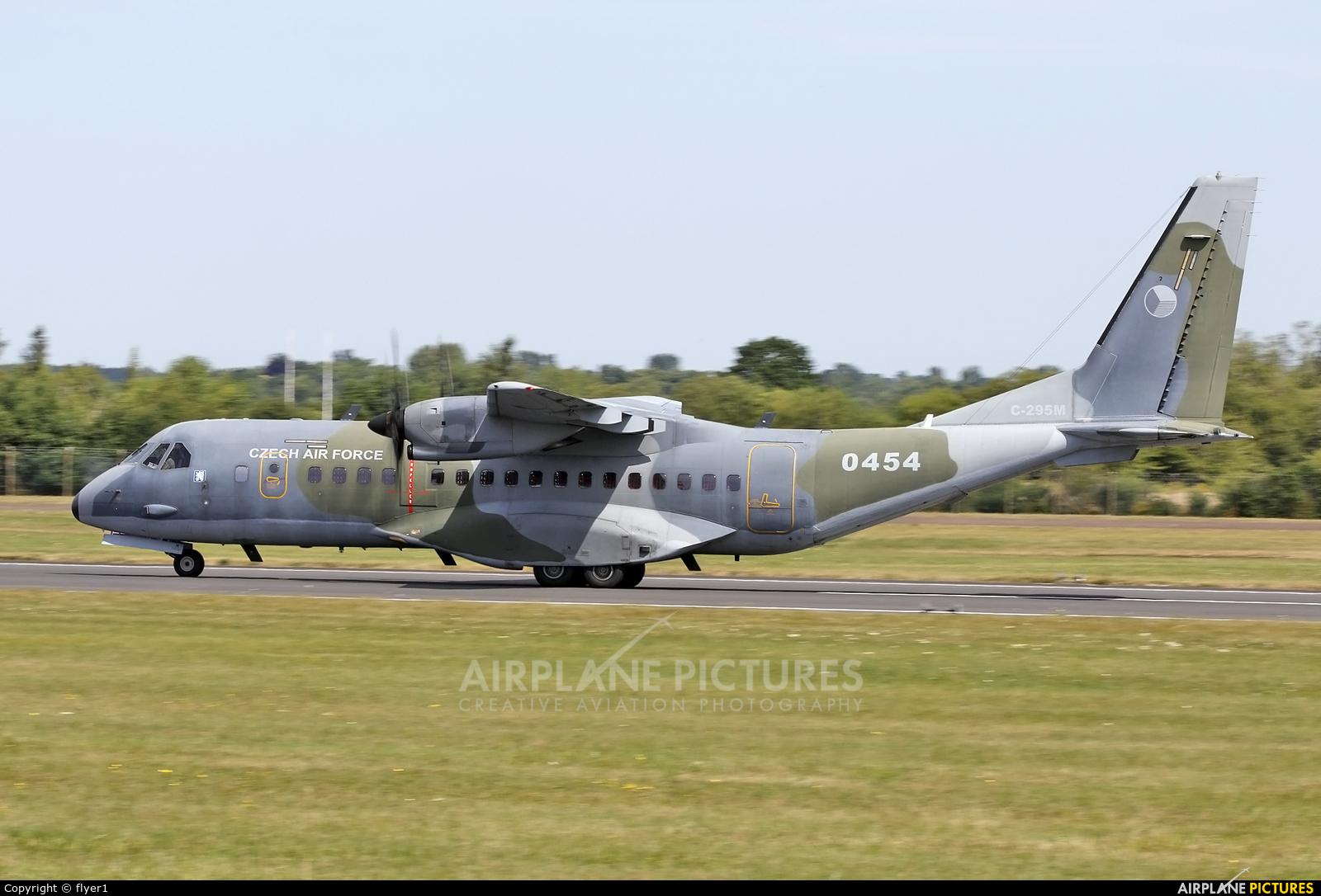 Czech - Air Force 0453 aircraft at Fairford