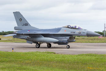 J-001 - Netherlands - Air Force General Dynamics F-16A Fighting Falcon