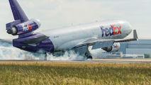 N599FE - FedEx Federal Express McDonnell Douglas MD-11F aircraft