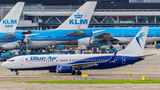Blue Air Boeing 737-800 YR-BML at Amsterdam - Schiphol airport