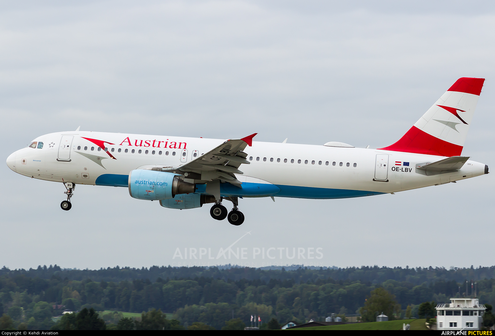 Austrian Airlines/Arrows/Tyrolean OE-LBV aircraft at Zurich