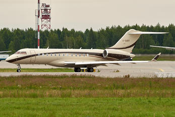 G-GABY - Private Bombardier BD-700 Global Express