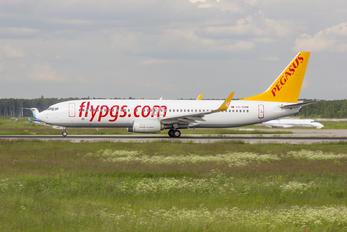 TC-CRB - Pegasus Boeing 737-800