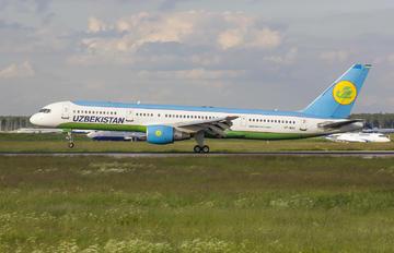 VP-BUJ - Uzbekistan Airways Boeing 757-200