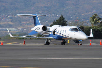 LV-GCK - Private Learjet 60