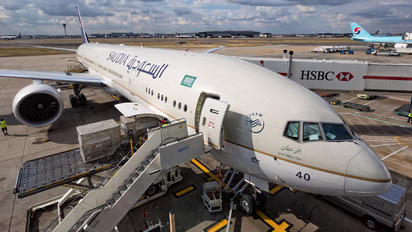 HZ-AK40 - Saudi Arabian Airlines Boeing 777-300ER