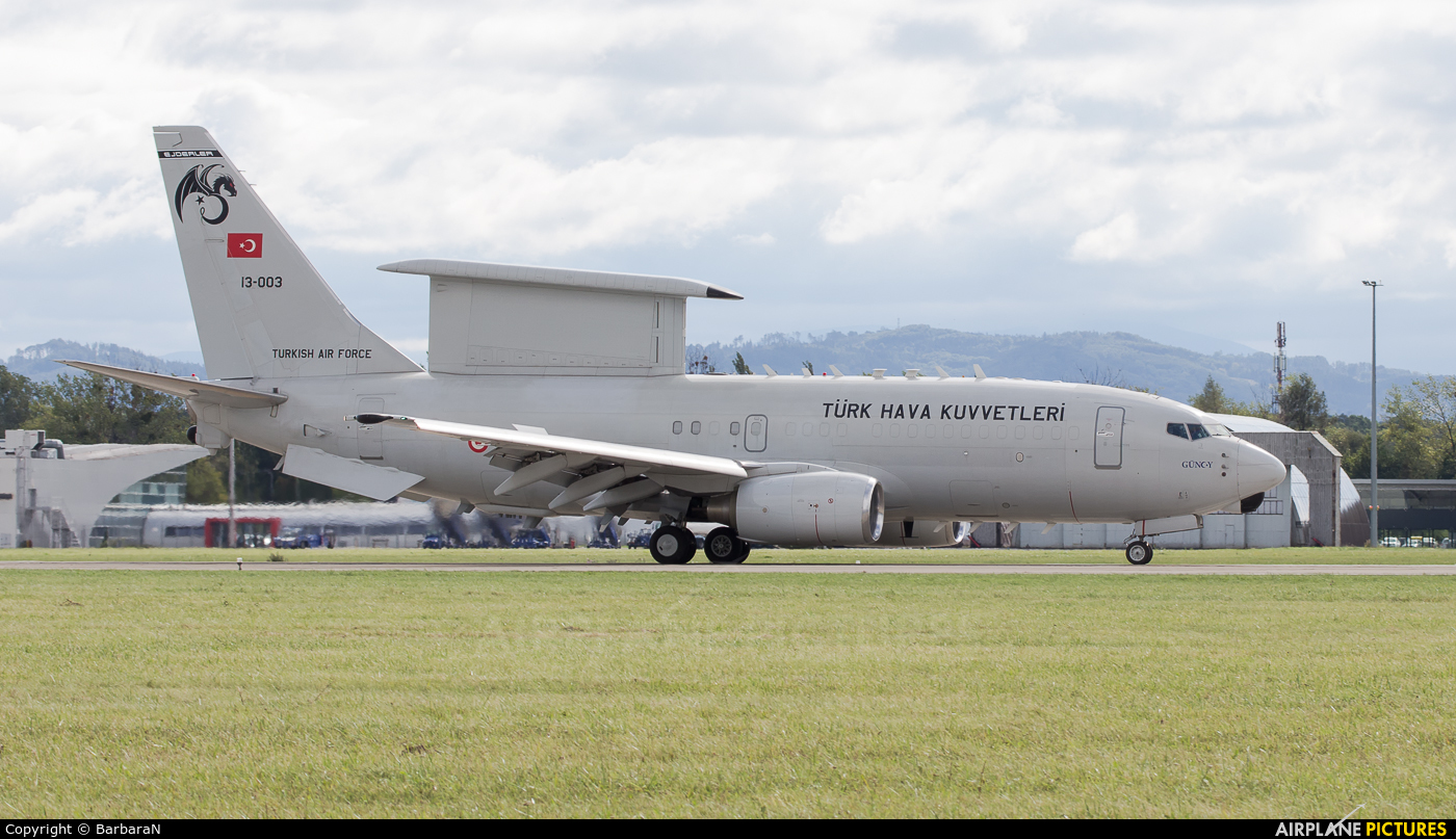 Turkey - Air Force 13-003 aircraft at Ostrava Mošnov