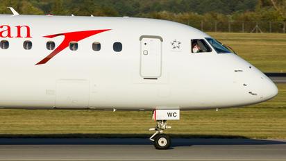 OE-LWC - Austrian Airlines/Arrows/Tyrolean Embraer ERJ-195 (190-200)