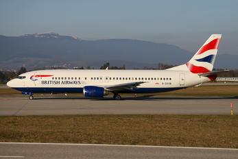 G-DOCB - British Airways Boeing 737-400