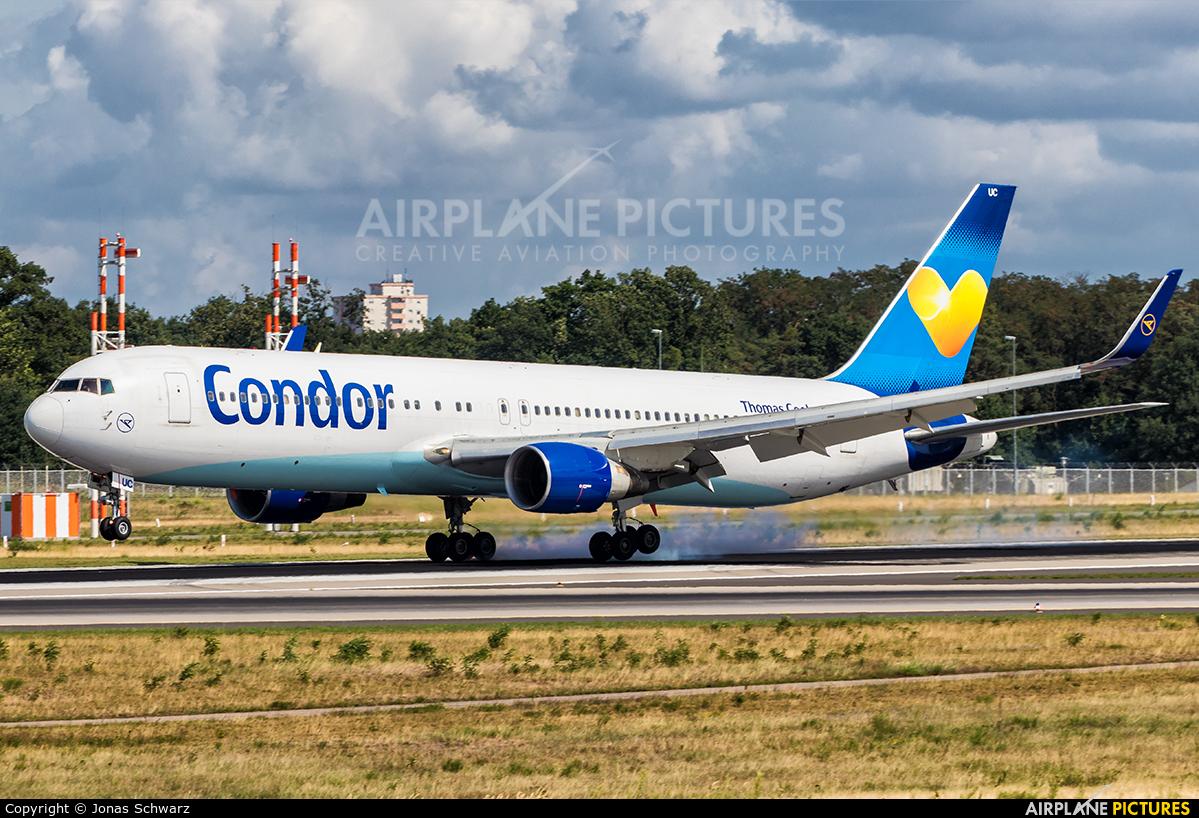 Condor D-ABUC aircraft at Frankfurt