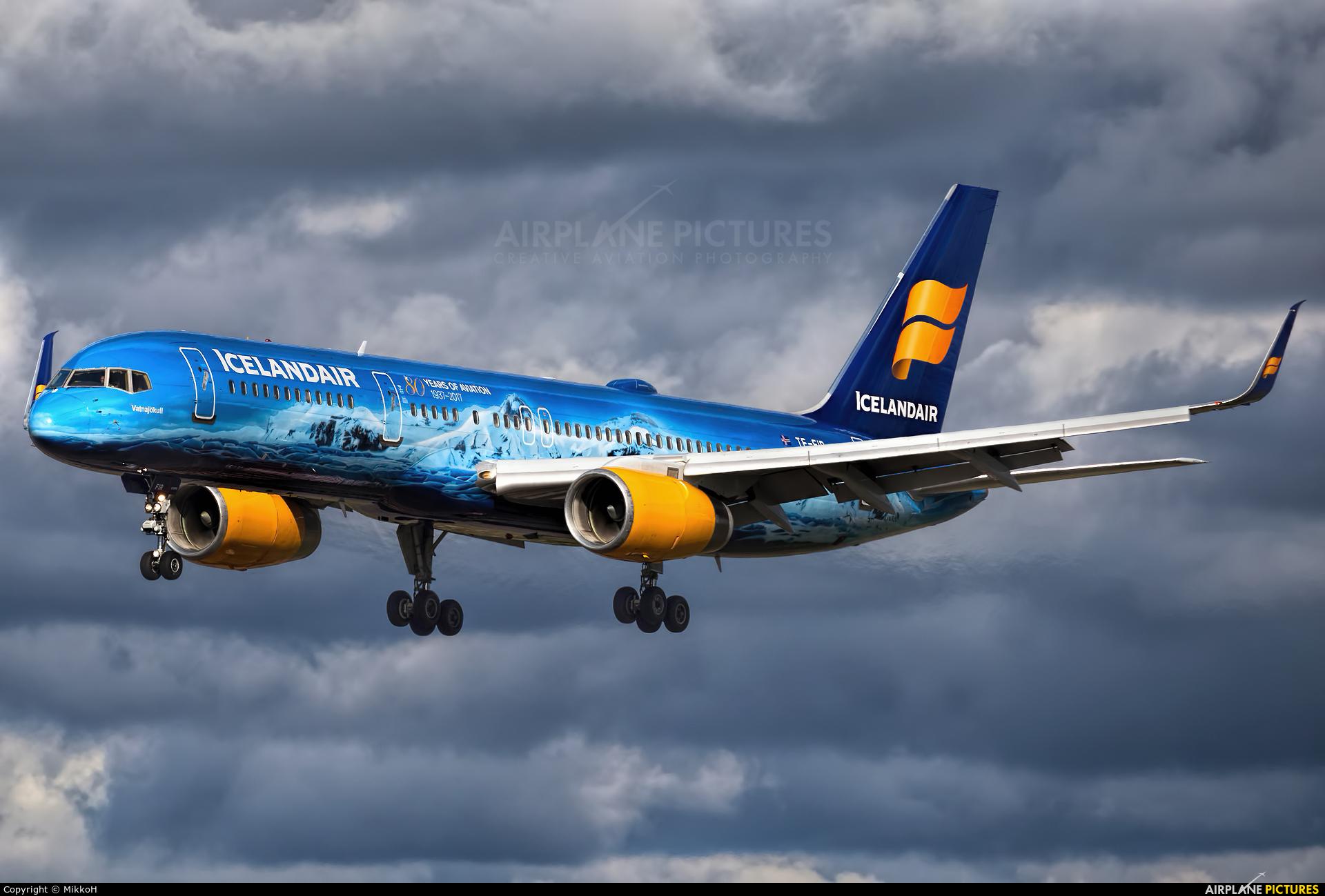 Icelandair TF-FIR aircraft at Helsinki - Vantaa