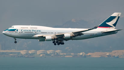 B-HKT - Cathay Pacific Boeing 747-400