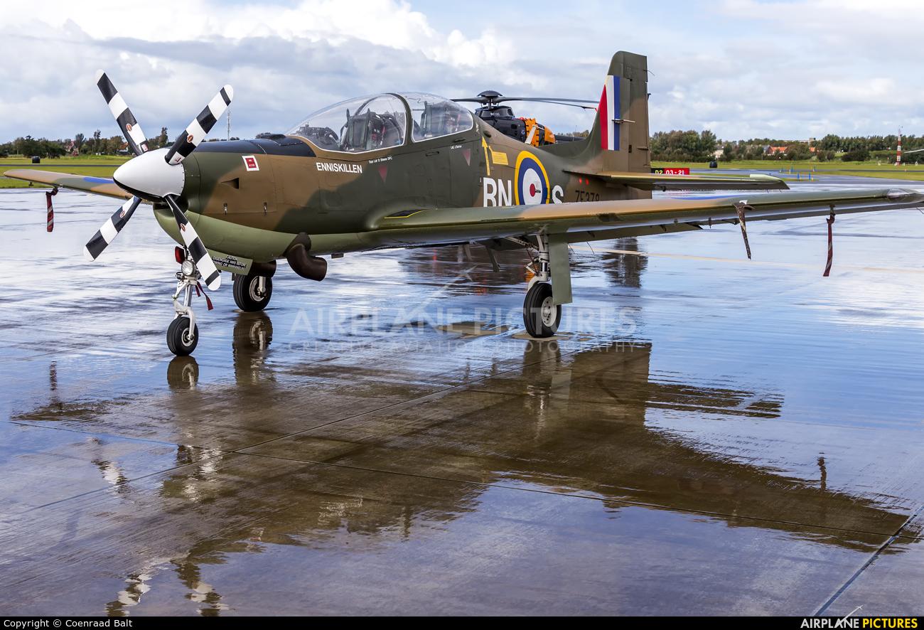 Royal Air Force ZF378 aircraft at Den Helder