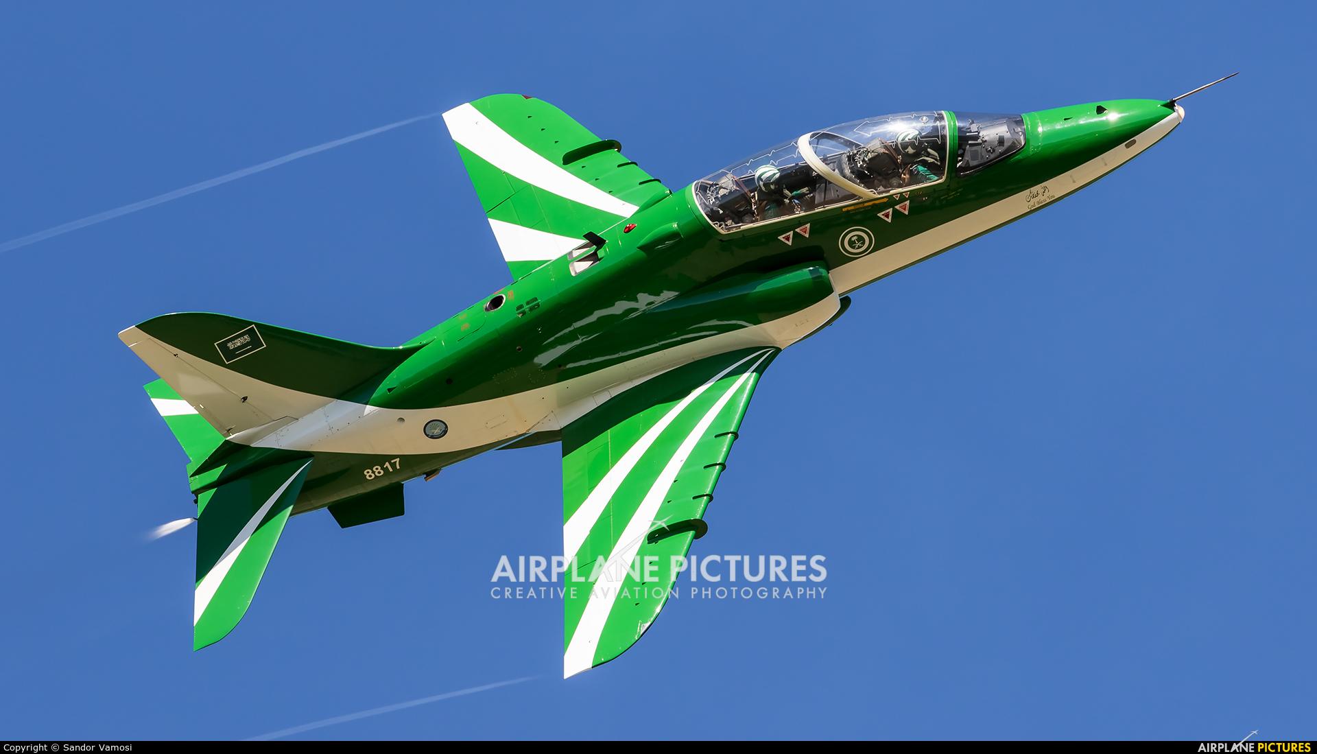 Saudi Arabia - Air Force: Saudi Hawks 8817 aircraft at Ostrava Mošnov