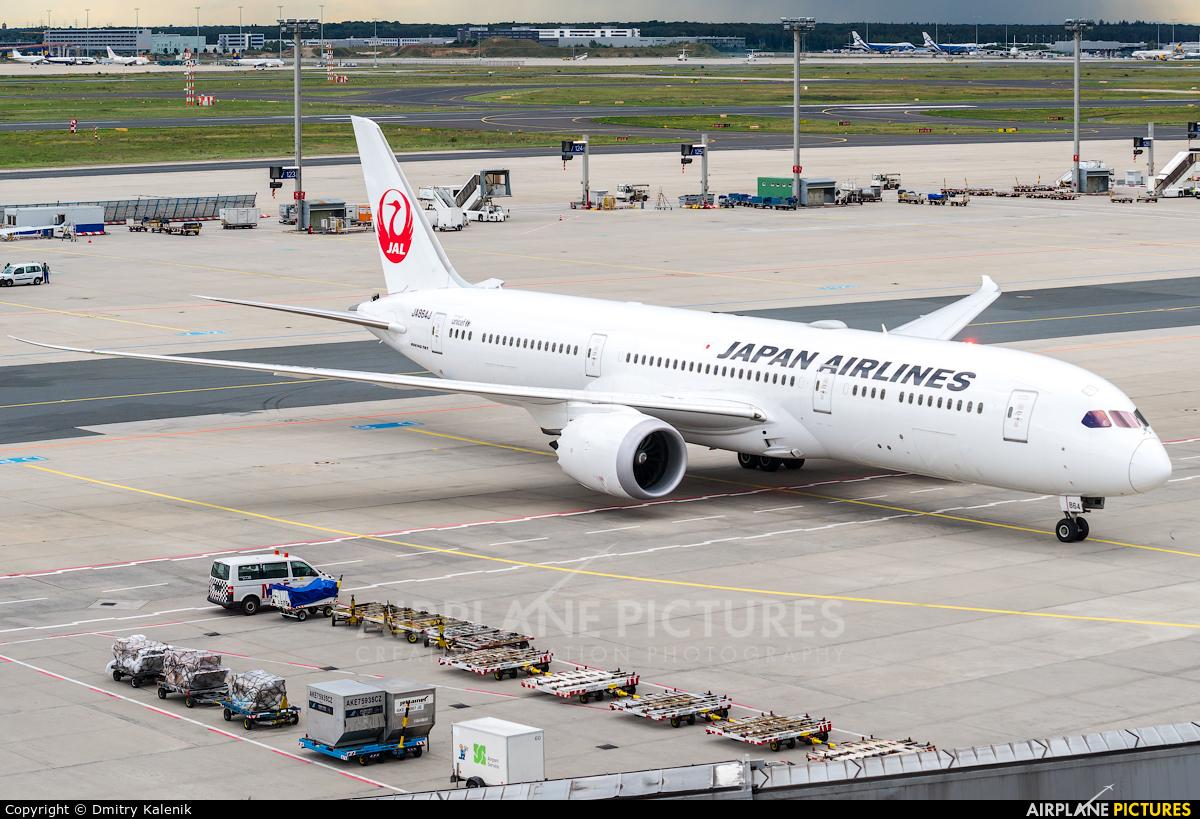 JAL - Japan Airlines JA864J aircraft at Frankfurt